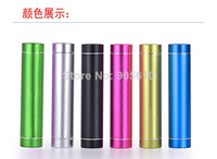 50pcs/lot USB Power Bank External Battery Charger 2600mAh for iPhone Mobile Phone