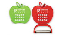 apple peeling knives free print custom logo ,plastic peeler,promotional gift,Foldable APPLE PEELER