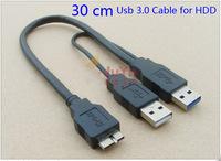 Usb 3.0 Micro b 10 pin Data Transfer Short Cable for WD Hitachi Toshiba Seagate external hard drive