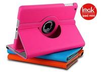 Clearance Special Price! free shipping Imak 360 degree rotate stand leather case for Apple iPad mini iPad mini2 iPad mini retina