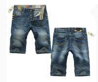 A5820  ,2014 In Stock Italian Famous Brand A Shorts Jeans Men,Casual Short Pants Men,Fashion Bermuda Denim Jeans Shorts Men