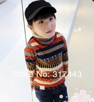 Qiu dong new pattern and velvet upset turtle neck render unlined upper garment woollen sweater