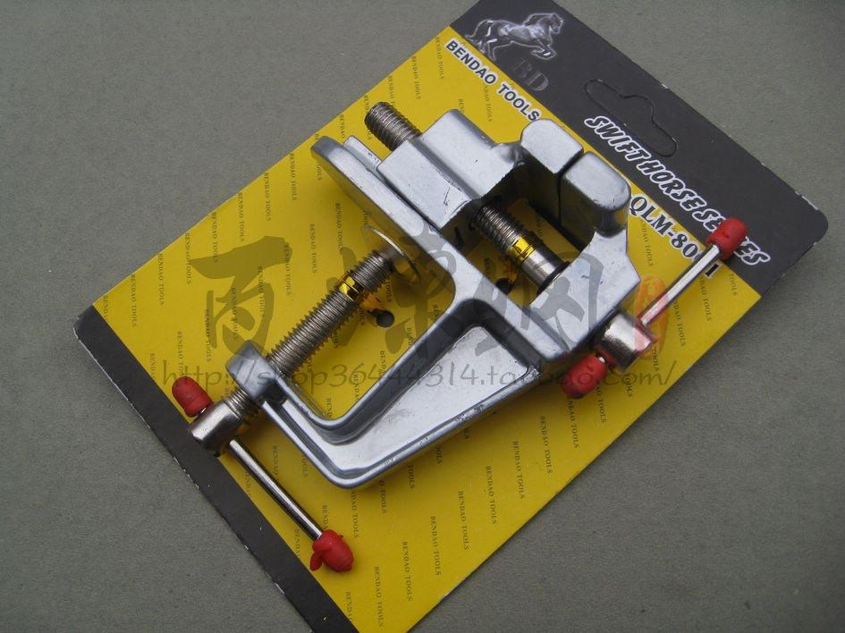 Ücretsiz kargo alüminyum mini mengene masa mengene kelepçesi metal