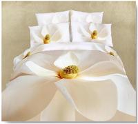 2014 Promotion 4pcs Reactive Printed Bed Set 3d Bedding Linen Cotton Size/bedclothes Duvet Cover Pillowcase Rose Coverlet 800tc