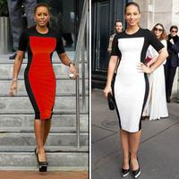2014 fashion womens celebrity bodycon dress ladies summer dress ladies new womens celebrity midi bodycon dress ladies