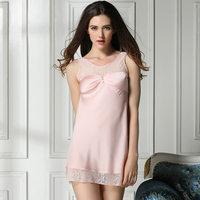 new 2014 sexy lace women sleepshirt / embroidery floral women sleepwear quality elegant women nightgown pajamas Free shipping