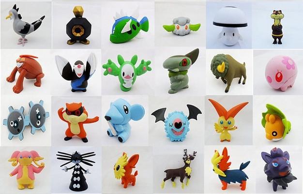 2014 NEW Pokemon Mini 4-6cm PVC Action Figures Anime Toys Dolls 20pcs/lot Classic Toys Free Shipping(China (Mainland))