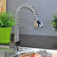 BR-8544 kitchen pull up faucet mixer chrome finishing  faucet  hot selling