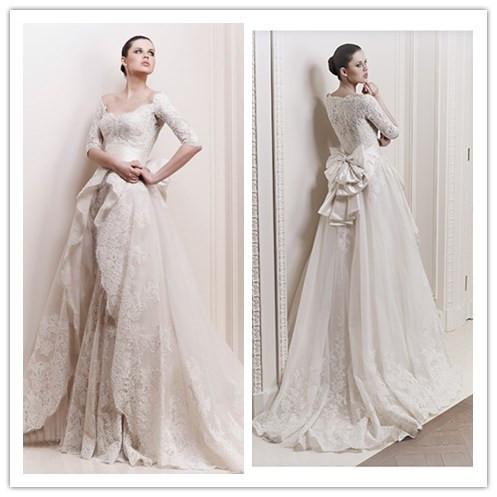 lunga da sposa zuhair murad vestito da Grossisti manica lunga da sposa ...