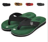 free shipping New 2014 Summer Casual Flat Men  Sandals,Beckham Leisure Soft Flip Flops for men ,EVA Massage Beach Slipper Shoes