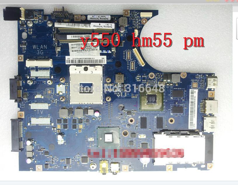 Original Y550 Y550P motherboard HM55 NIWBA LA-5371P for LENOVO LAPTOP has test 100%(Hong Kong)