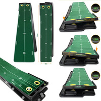 Authentic Korean golf indoor putting practice green office supplies home exercise kit