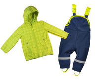 Free Shipping - topomini baby kids/baby boys softshell clothing set, baby windproof suit, baby waterproof suit (MOQ: 1 pc)