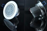 2pcs/lot High power 5 Led ceiling lamp 900LM Led Bulb LED lighting led light spotlight down light 110-265V with box