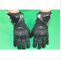 2013 Latest GP Pro Genuine Leather racing gloves,Motorcycle riding gloves,Off-road protective gloves with bag  KPSC