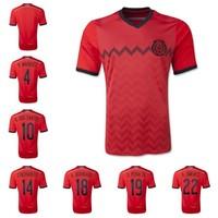 Mexico away soccer jersey 2014 player G.DOS SANTOS CHICHARITO A.GUARDADO O.PERALTA R.MARQUEZ foot ball uniforms free shipping