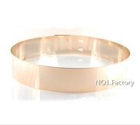 Free Shipping 2014 new belts for women Fashion Metal Plate Elastic Metallic Bling gold metal belt Wide Cummerbund Waist Belt