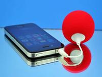 2014 NEW Fashion Multi-Color Ball Speakers Portable Mini Music Balloon Speaker Cute Music Ball for MP3 MP4 Cell Phone ipod nano