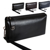 99 Time-hot sell luxury genuine leather mens clutch wallet,soft leather clutch purses with handle,casual business men wallets
