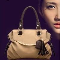 2015 brand bags Women leather Handbags Special Offer bags women messenger bags Splice grafting Vintage Shoulder
