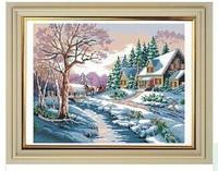 Neeldework hot sale cross stitch home decoration embroidery cross stitch kit 100% printed cross stitch
