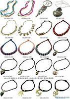 MW-11 Best Mix Wholesale Tibetan Ethnic Yak Bone Slim Chain Pendants Necklace,Nepal India Handmade BOHO Jewerly,Free shipping