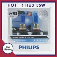 HB3  Freeshipping 100% Original Genuine Blue Diamond  5000K bright white light hB3 12972 car distance light bulb