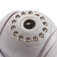 P2P IR WIFI IP Camera Video Surveillance Security Interior INALAMBRICO Blanco EU