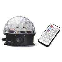 12W RGB Ball LED Effect Light Lighting for DJ Disco Party Fiesta AC 90-240V  MP3