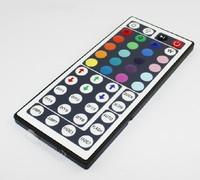 FreeShipping 100pcs/lots  Wholesale RGB Mini Controller & 44 Key Remote Control 3528 5050 RGB Strip 12V