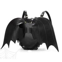 Free Shipping 2014 Cute Devil Bat Wings Sports Bag Lace Angel Knapsack Women Backpacks  Children Backpacks KB-010