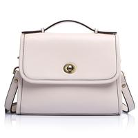 Fashion women's handbag 2014 women's fashion genuine leather handbag messenger bag vintage women's handbag candy color bags