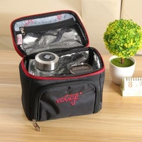 ZW020 Fashionable picnic bag lunch bag receive bag keep-warm bag 24*16.5*26.5cm