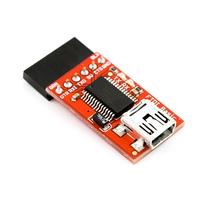 FTDI Basic 5V/3.3V USB switch TTL MWC programmer / serial debugger / program upload tool
