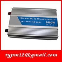 Modified Sine Wave USB Mobile Car Inverter DC24V to AC220V auto inverter 2000W+free shipping