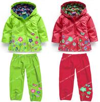 2015 new children suit (hoodie+pants), children's hoodies, children's jacket, girl suits, children raincoat, clothing set.