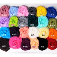 hot!!!2014 new summer long pleated scarf female candy color silk scarf scarf elegant thin silk scarf for women