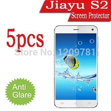 5pcs Screen Protectors For Jiayu S2,Mobile Phone Ultra-Clear Jiayu S2 Screen LCD Film Cover Guard(China (Mainland))