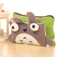YY010 Cute cat style pencil bag Stationery bag multi-function receive bag 12*20cm Free shipping