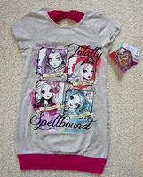 New 2014 Summer girls fashion clothing brand kids t-shirts children's tshirts girls top Ever After High cartoon girls long shirt