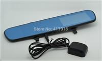 Free Shipping! K6000 Car Camera Car DVR Full HD 1080P Vehicle Camera LED Night Vision Video Recorder rearview Blackbox Dual Lens
