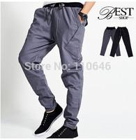 2014 hot sale fashion men personality harem pants men casual pants