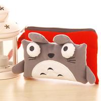 YY020 Fashion cat style pen bag pencil bag  multi-function receive bag pencil bag  12*20cm free shipping