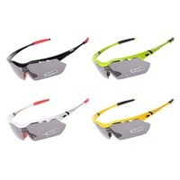 Hot! RockBros Polarized Cycling Sun Glasses Outdoor Sports Bicycle Glasses Bike Sunglasses TR90 22g Goggles Eyewear 5 Lens