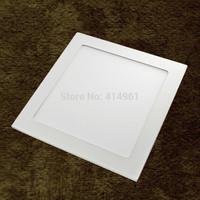 Wholesale/Retail 20pcs/lot 225mm*225mm 18W LED Panel Light,1260LM Energy Saving Ivory White Diecast Aluminum+PMMA LED Panel Lamp