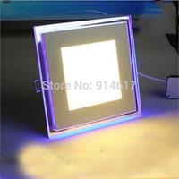 10W  15W 20W  Led Panel Light AC 110-265V Square Led ceiling Light Panel Free Shipping