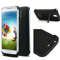 2014 New 3200mah Potable Power Bank External Battery Power Bank Case Cover For Samsung Galaxy S4 i9500 Black C102087