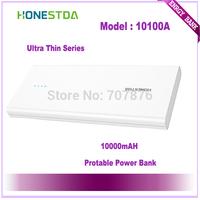 HONESTDA Ultra Thin Series 10100A 10000mah Protable  Fashion Power Bank Free Shipping