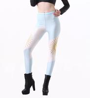 Sexy Punk New 2014 World Cup Legging Flag of Argentina Digital Print Fitness Leggins Women Fashion LEGGINGS Wholesale S106-453