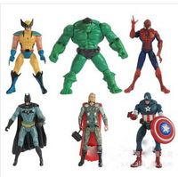 New 2014 Super Hero Marvel The Avengers Action Figures Set CLASSIC Toy For Child Gift 6PCS/Set